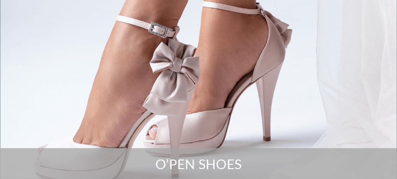 Scarpe Sposa Open.Penrose O Pen Shoes Collezione Sposa
